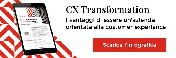 CX Transformation - I vantaggi di essere un'azienda orientata alla customer experience
